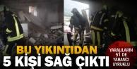 Zeytinköydeki patlamada yaralanan 5 kişi yabancı uyruklu