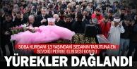 13 yaşındaki Seda gözyaşlarıyla toprağa verildi
