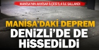 Akhisardaki deprem Denizlide de hissedildi