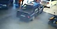 Arızalı fren lambası hırsızları yakalattı