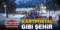 Bağbaşı Yaylasında kartpostallık kış manzaraları