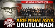 Büyükşehir, Arif Nihat Asya#039;yı unutmadı
