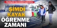 Büyükşehir#039;den ücretsiz kayak kursu
