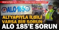Büyükşehir DESKİde çözümün merkezi ALO 185