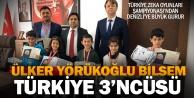 Denizlili öğrenciler zeka oyunlarında Türkiye 3ncüsü oldu