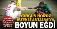Denizlispor, Antalyaspora evinde yenildi: 0-3