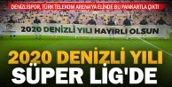 Denizlispor, Galatasaray maçına quot;2020 Denizli Yılıquot; pankartıyla çıktı