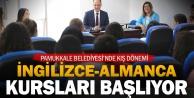 Pamukkale Belediyesi'nden Almanca ve İngilizce kursu