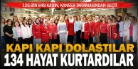 Pembe Şehir Denizli, projesi ile 134 kadına erken kanser teşhisi konuldu