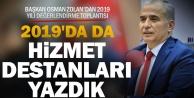 Başkan Osman Zolan#039;dan 2019 yılı değerlendirme toplantısı