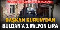 Buldan'a 1 milyon liralık hibe