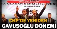 CHP kongresinde başkan değişti: Çavuşoğlu 4 oy farkla seçildi