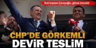 CHPnin yeni başkanı Çavuşoğlu görevi devraldı