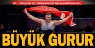 Denizlili Milli güreşçi Süleyman Karadeniz Avrupa şampiyonu