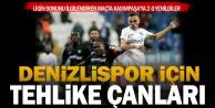 Denizlispor Kasımpaşadan puansız dönüyor: 2-0