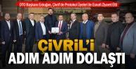 DTO Başkanı Erdoğan, Çivrilde Protokol Üyeleri ile Esnafı Ziyaret Etti