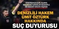 Fenerbahçeli hukukçular Alanya maçının iki hakemi hakkında suç duyurusunda bulunacak