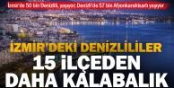 İzmirdeki Denizlililer birçok Denizli ilçesinden daha kalabalık nüfusa sahip