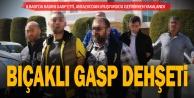 Kadının çantasını gasp edip Antalyadan eroin getirmeye giden şüpheli yakalandı