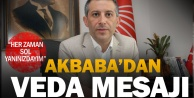 Mahir Akbabadan veda mesajı: Her zaman yanınızdayım