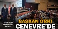 Pamukkale Belediye Başkanı Avni Örki, Cenevre'de