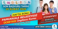 PAMUKKALE'DE HAFTA SONU İNGİLİZCE KURS KAYITLARI BAŞLADI