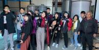 Tayvanlı üniversite öğrencileri 10 günde Denizli'yi tanıdı