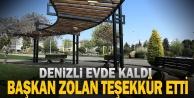 """Başkan Osman Zolan: Teşekkürler Denizlim"""""""