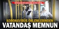 Büyükşehir koronavirüs mücadelesine devam ediyor
