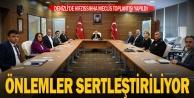 Denizli#039;de Hıfsızzıhha Meclisi toplantısı yapıldı, önlemler arttırıldı