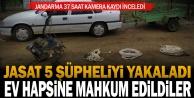 Denizli#039;de hırsızlık yaptığı iddiasıyla 5 kişi yakalandı