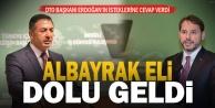 DTO Başkanı Erdoğan talepleri sıraladı, Bakan Albayrak cevap verdi
