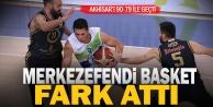 Merkezefendi Basket  Akhisar#039;a fark attı