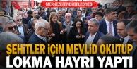 Merkezefendi Belediyesinden İdlibde şehit olan Mehmetçiklere mevlid okuttu