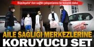 Büyükşehir#039;den aile sağlık merkezlerine koruyucu set