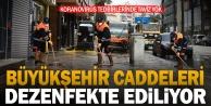 Büyükşehir#039;den koronavirüse karşı sıkı tedbirler