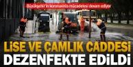Büyükşehir#039;in koronavirüs mücadelesi devam ediyor