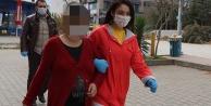 Denizli#039;de telefon yoluyla dolandırıcılık iddiasıyla biri hamile iki kişi yakalandı