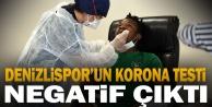 Denizlispor#039;da futbolcu, teknik heyet ve çalışanların koronavirüs testi negatif çıktı