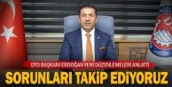 DTO Başkanı Erdoğan, Çalışmalarını Aralıksız Sürdürüyor