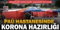 PAÜ Hastanesi Koronavirüs Mücadelesine Hazır