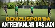 YukatelDenizlispor#039;da saha antrenmanları başladı