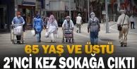 65 Yaş ve üstü vatandaşlar 2nci kez sokağa çıktı