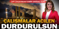 Avdan termik santraline CHPli Belediye Başkanı Doğandan tepki