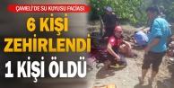 Denizli#039;de su kuyusunda zehirlenen 6 kişiden 1#039;i öldü