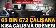 Denizlide 65 binden fazla çalışan kısa çalışma ödeneğinden yararlandı