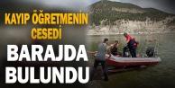 Kayıp emekli öğretmenin cesedi Adıgüzel Barajında bulundu