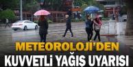 Meteorolojiden kuvvetli yağmur uyarısı