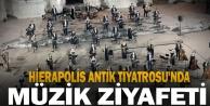 Murat Karahan, quot;Evde Bayram Konserleriquot; kapsamında Hierapolis Antik Tiyatrosu#039;nda sahne aldı