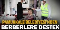 Pamukkale Belediyesi'nden Berberlere Bir Destek Daha